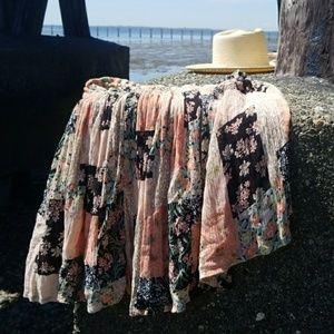 Dresses & Skirts - VNTG boho gypsy skirt